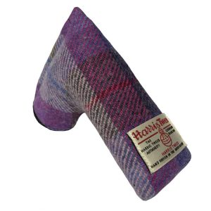 golf-shop-putter-cover-marsh-violet-tweed-blade-shop