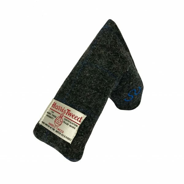 golf-shop-putter-cover-bugle-harris-tweed-blade-shop