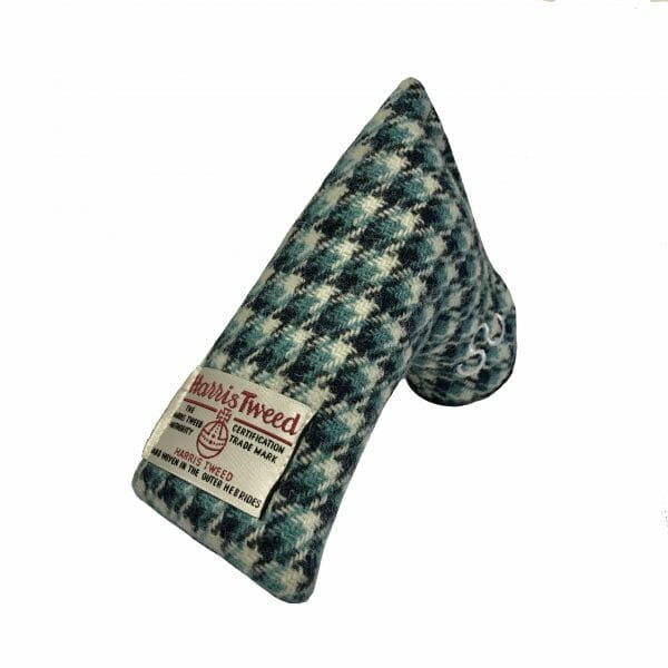 golf-shop-putter-cover-cornflower-harris-tweed-blade-side-shop