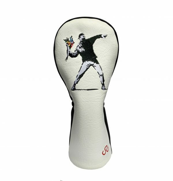 golf-shop-wood-driver-cover-online-banksy-flower-thrower-shop