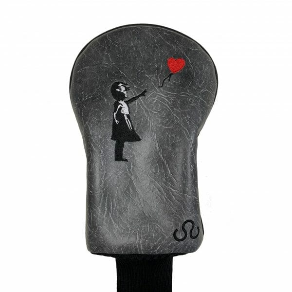 golf-shop-wood-driver-cover-socked-online-banksy-girl-with-balloon-close-up-shop