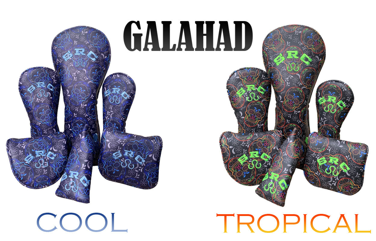 golf-shop-putter-covers-galahad-cool-tropical-putter-wood-covers-online